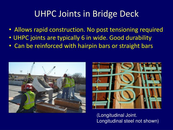 UHPC Joints in Bridge Deck