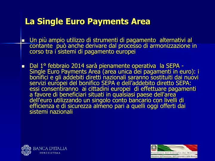 La Single Euro Payments Area