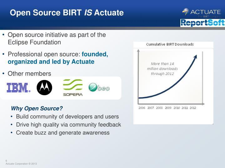 Open Source BIRT