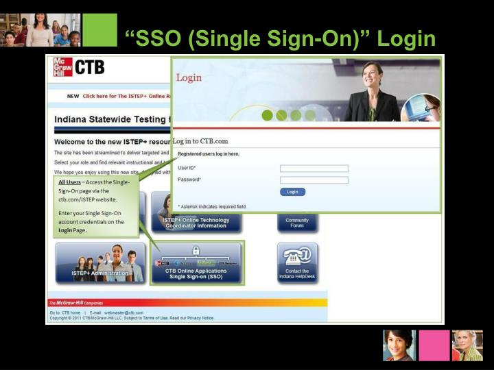"""SSO (Single Sign-On)"" Login"