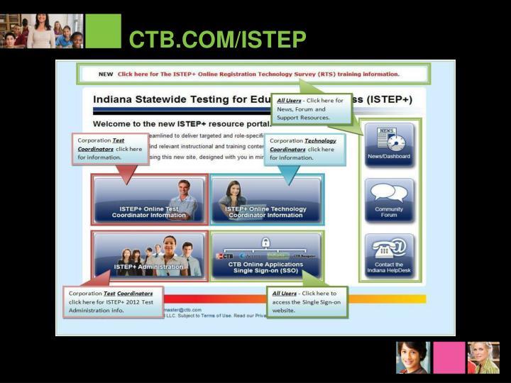 CTB.COM/ISTEP