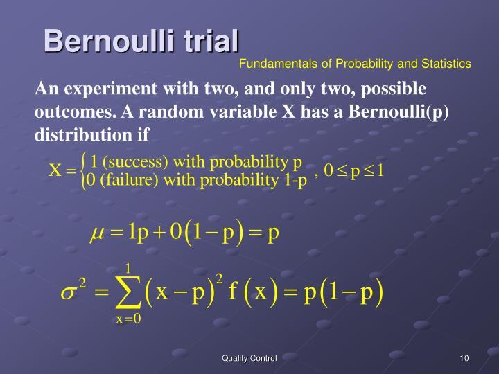 Bernoulli trial