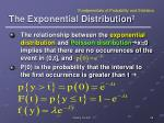 the exponential distribution 2