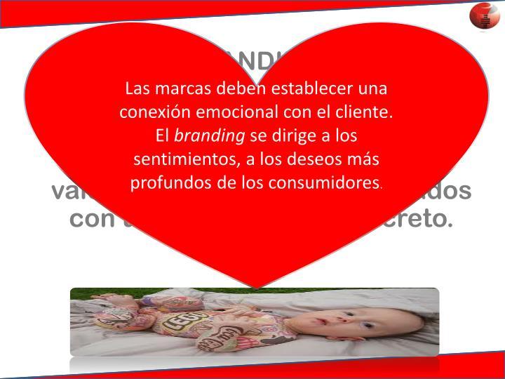 Las marcas deben establecer una conexión emocional con el cliente. El