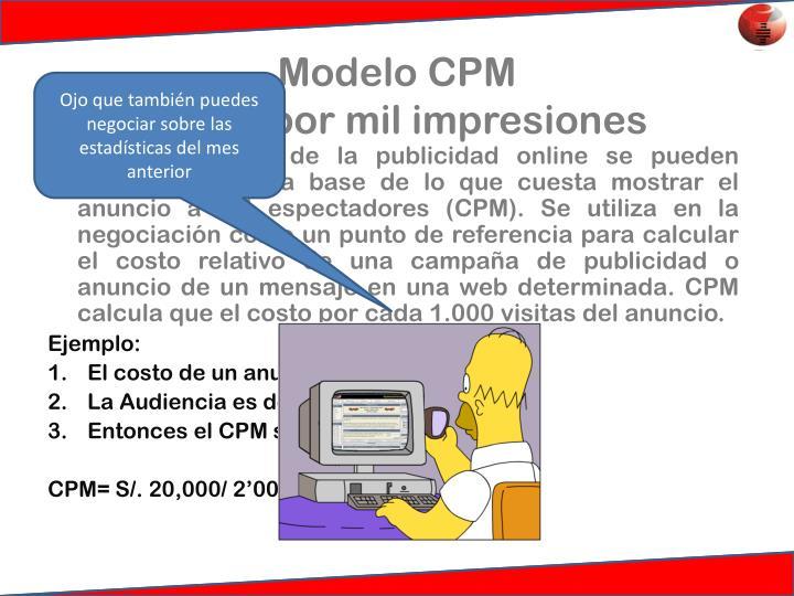 Modelo CPM