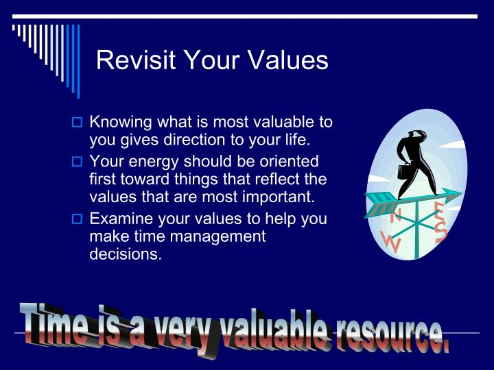 Revisit Your Values
