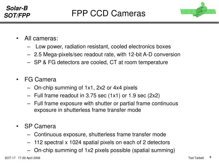FPP CCD Cameras