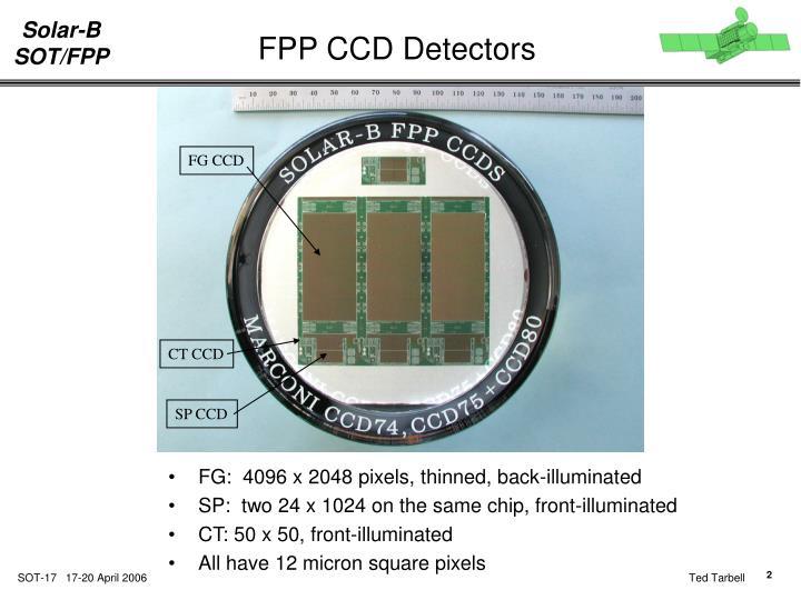 FPP CCD Detectors