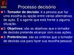 processo decis rio1