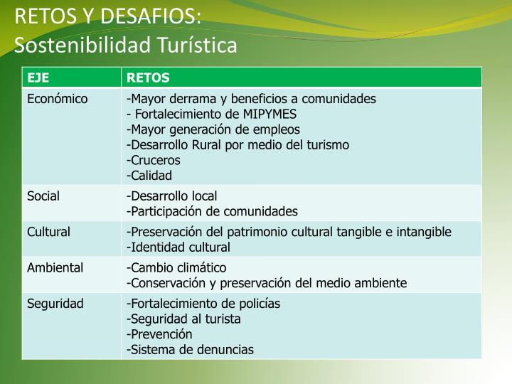 RETOS Y DESAFIOS: