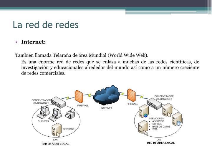 La red de redes