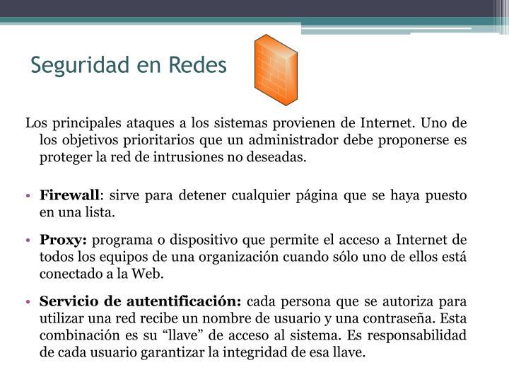Seguridad en Redes