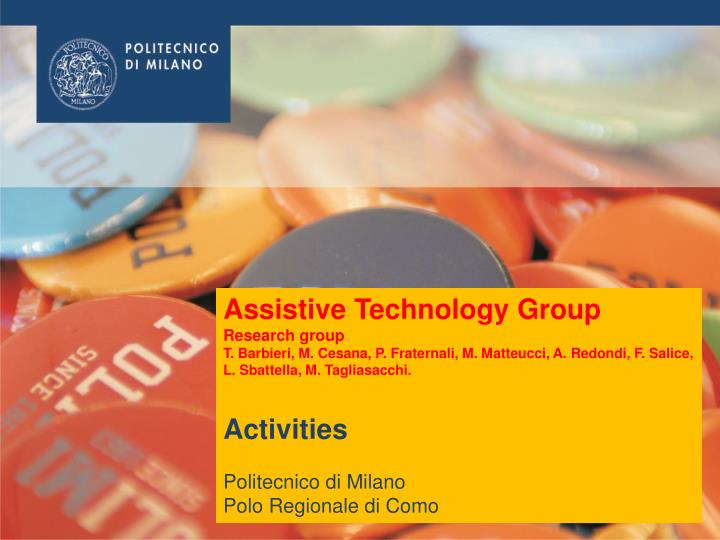 Assistive Technology Group