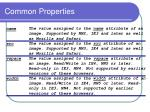 common properties2