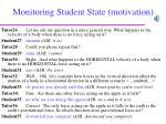 monitoring student state motivation