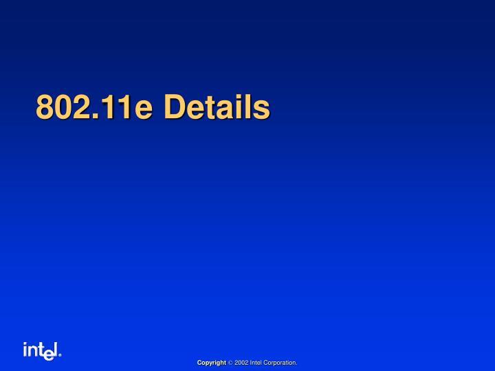 802.11e Details