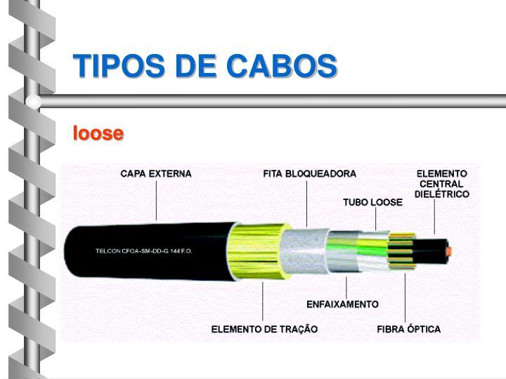 TIPOS DE CABOS