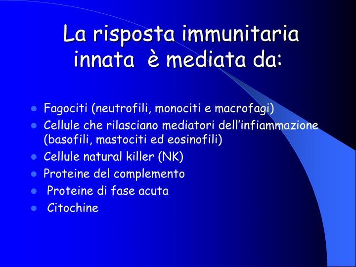 La risposta immunitaria