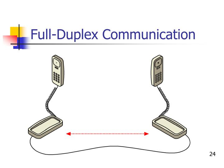 Full-Duplex Communication