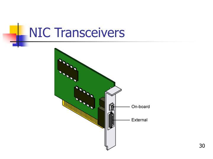 NIC Transceivers