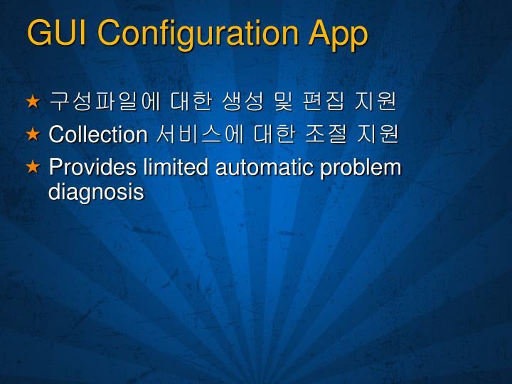 GUI Configuration App