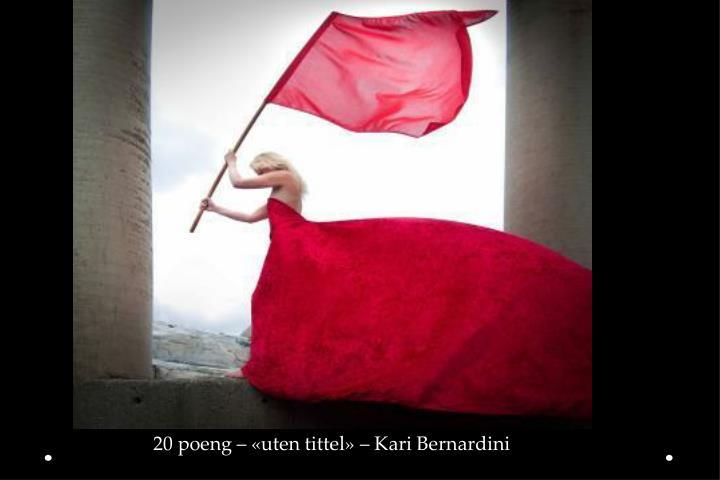 20 poeng – «uten tittel» – Kari Bernardini