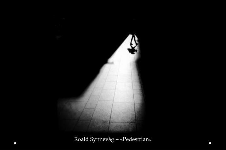 Roald Synnevåg – «Pedestrian»