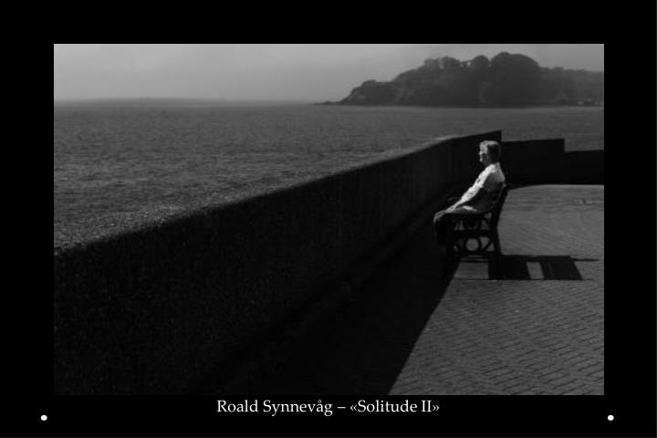 Roald Synnevåg – «Solitude II»