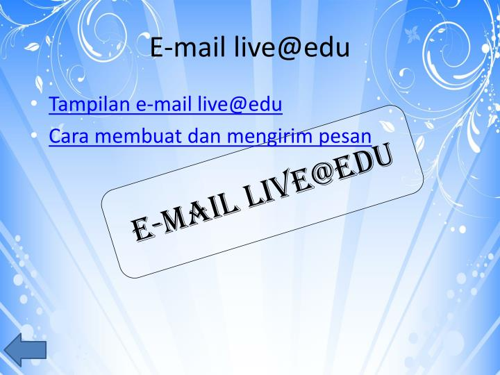 E-mail live@edu