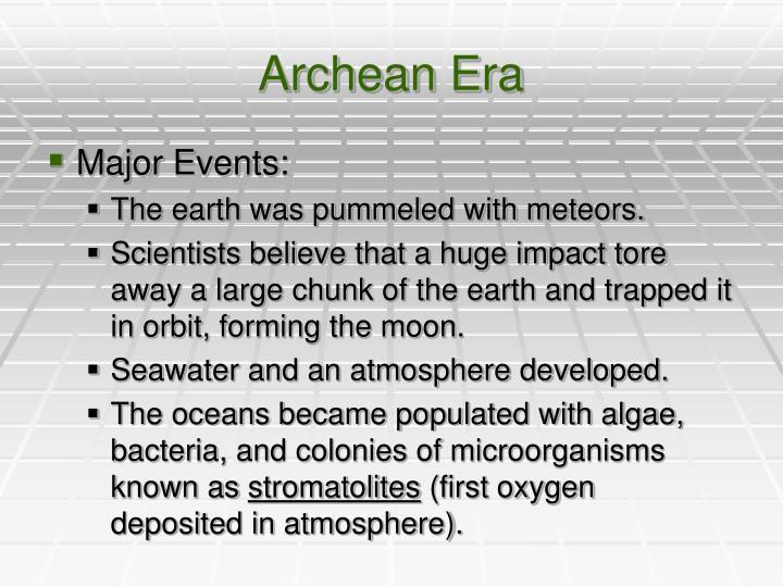 Archean Era