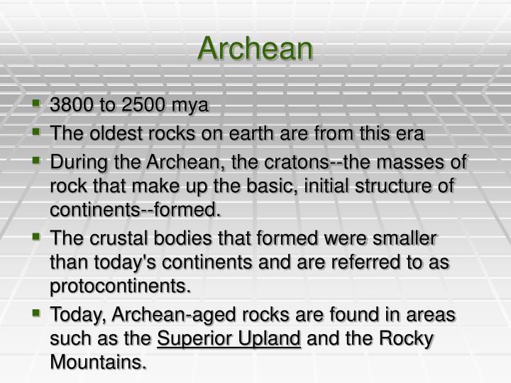 Archean