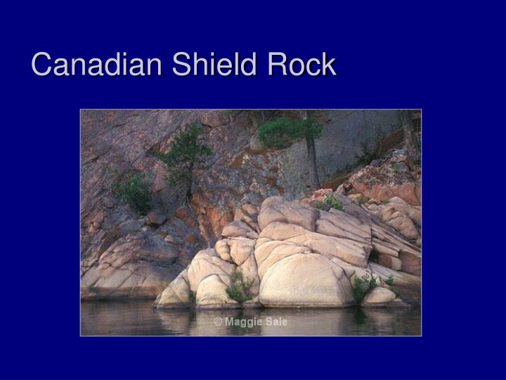 Canadian Shield Rock