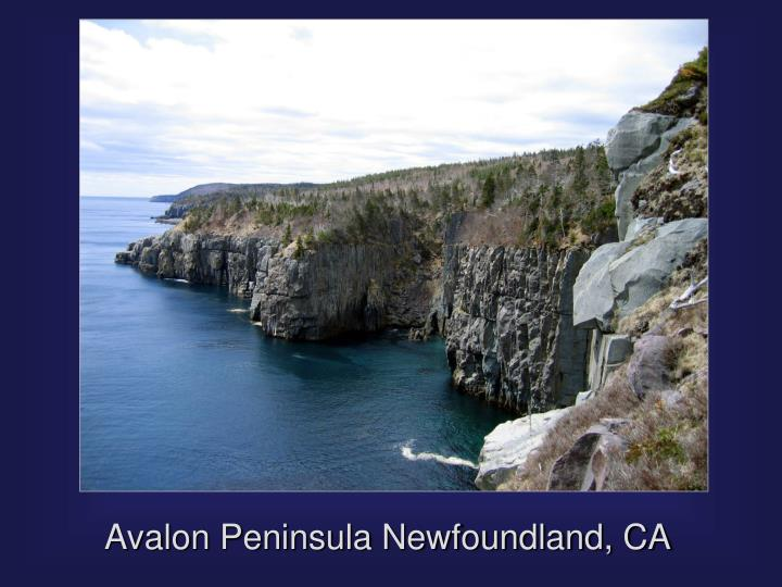Avalon Peninsula Newfoundland, CA