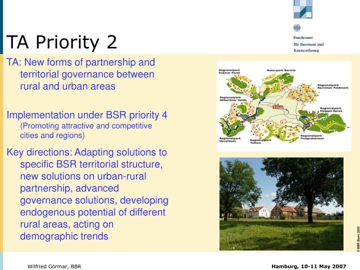 TA Priority 2