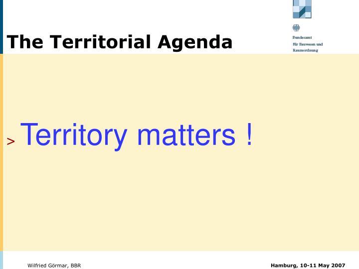 The Territorial Agenda