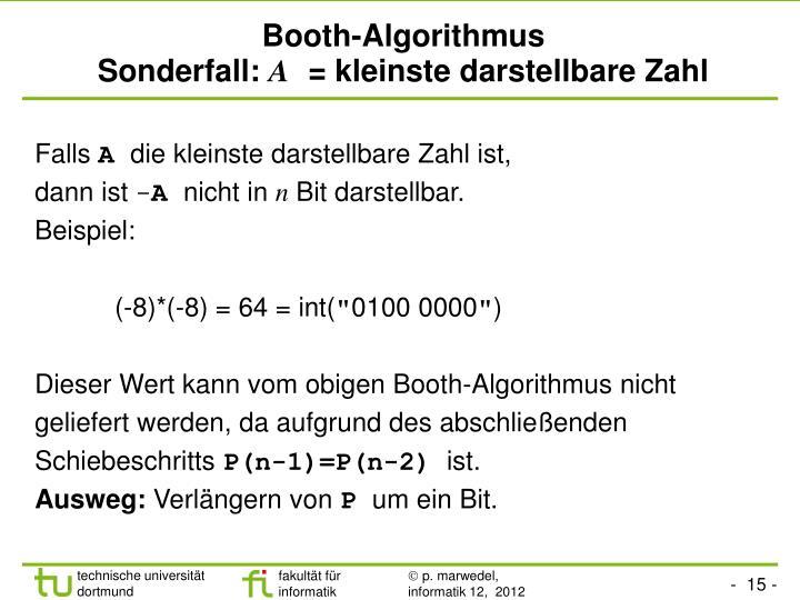 Booth-Algorithmus