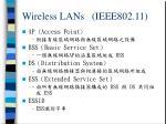 wireless lans ieee802 11