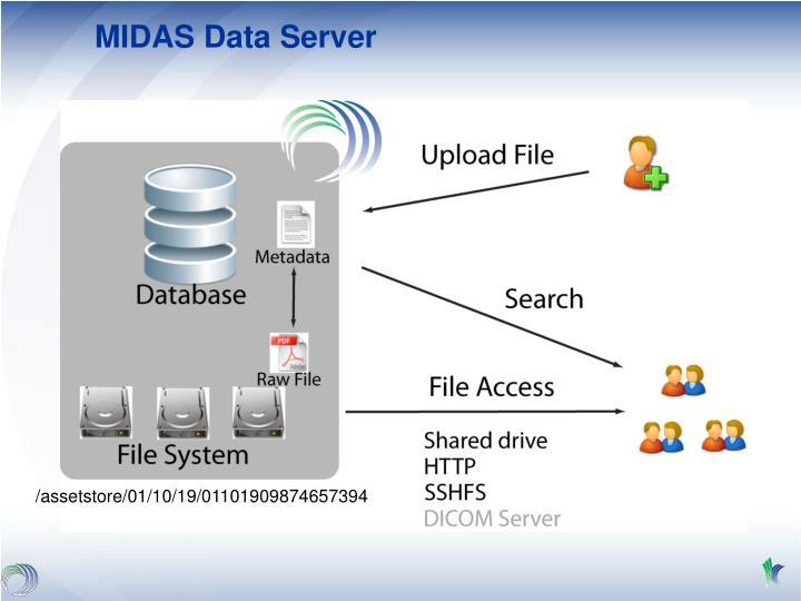MIDAS Data Server