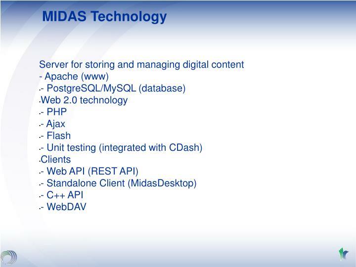 MIDAS Technology