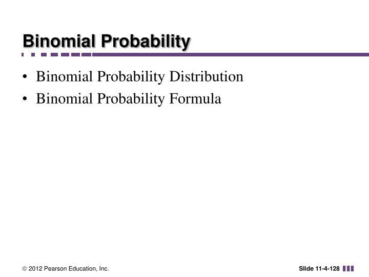 Binomial Probability