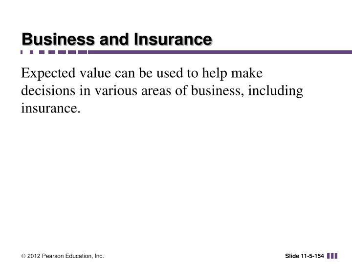 Business and Insurance