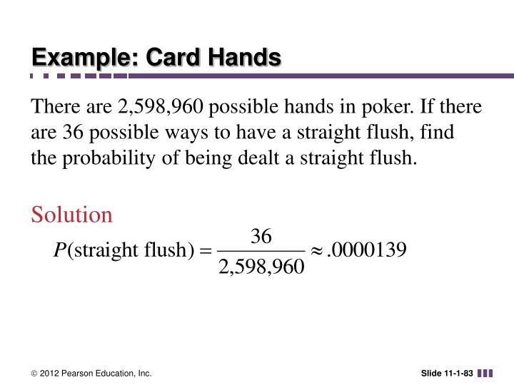 Example: Card Hands