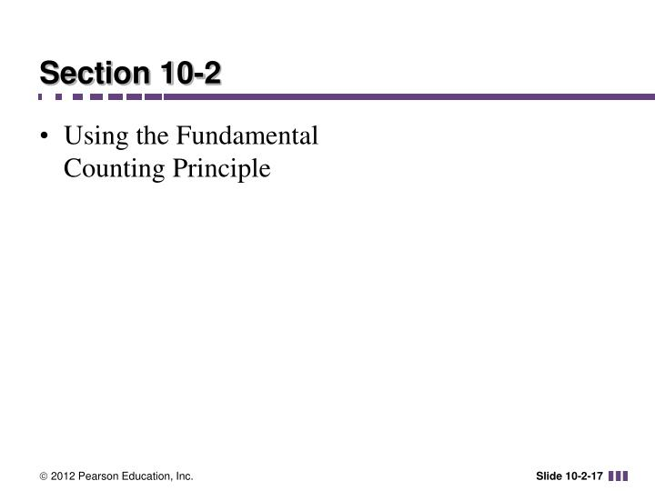 Section 10-2