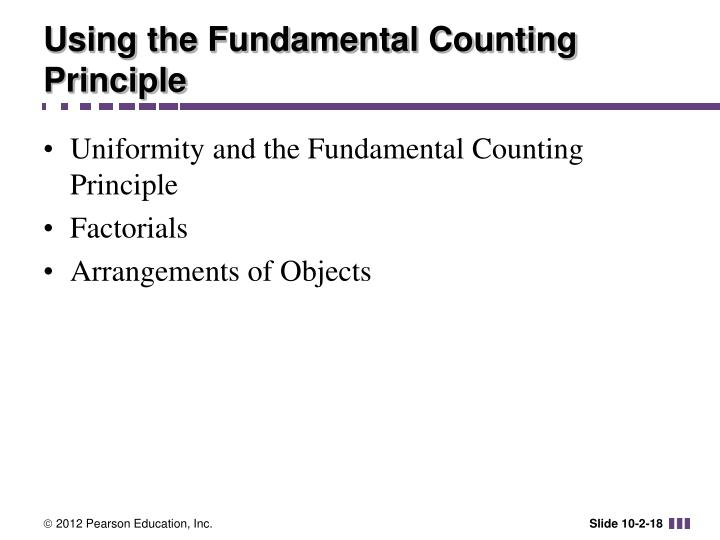 Using the Fundamental Counting Principle