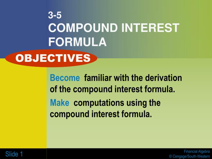 3 5 compound interest formula
