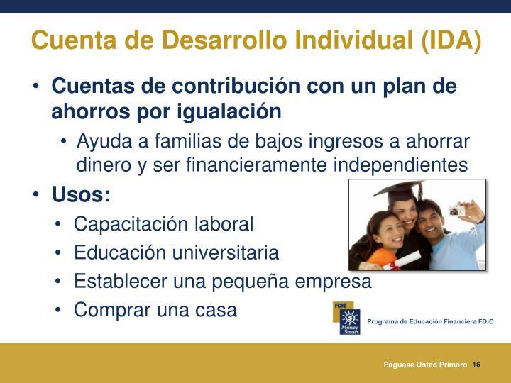 Cuenta de Desarrollo Individual (IDA