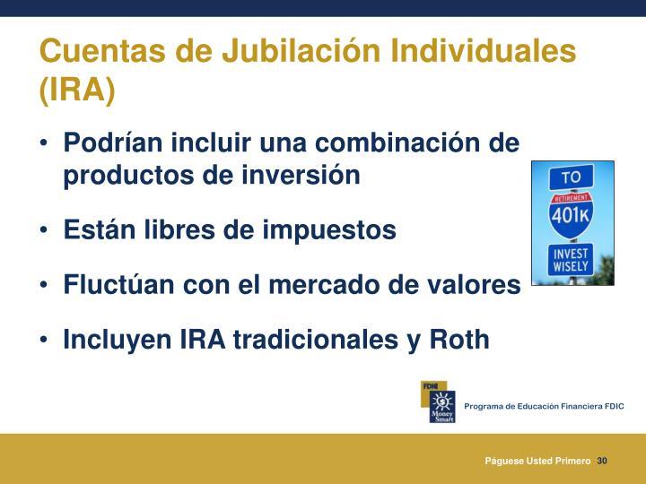 Cuentas de Jubilación Individuales (IRA)
