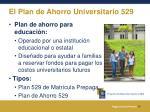 el plan de ahorro universitario 529
