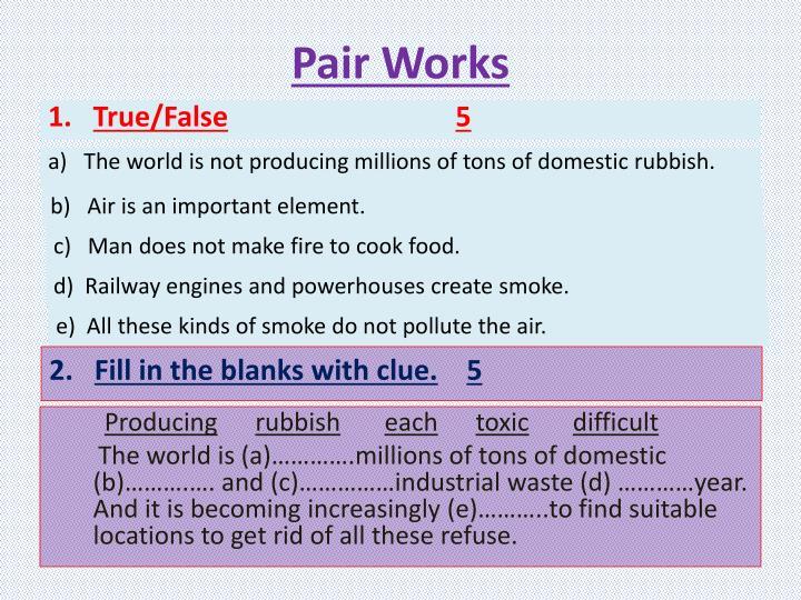 Pair Works