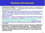 diretrizes internacionais1